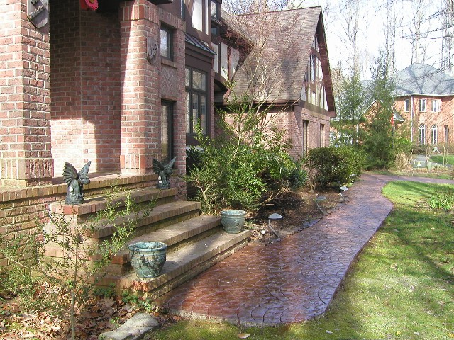 Artistic_Stamped_Concrete_Of_Maryland_Decorative_Concrete_Walkway_Prince_George's_County_MD